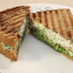 green pepper panini